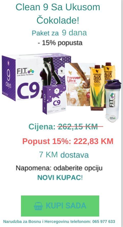 clean 9 čokolada