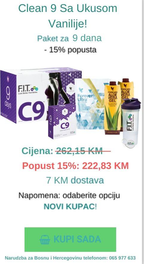 clean 9 vanilija